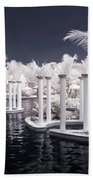 Infrared Pool Beach Towel