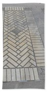 Inlayed Brick Walk Beach Towel