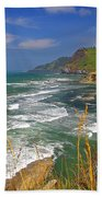 Inlet At Devils Punchbowl State Park Oregon  Beach Towel