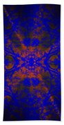 Inner Glow - Abstract Beach Towel