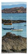 Inner Hebrides Transportaion Beach Towel