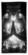 Inner Illumination - Self Portrait Beach Towel