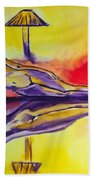 Inner Reflections Beach Towel