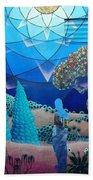 Inner Space-art On A Wall.  Beach Sheet