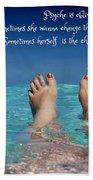 Innerthoughts Beach Towel