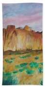Inscription Rock  Beach Towel