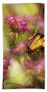 Insect - Butterfly - Golden Age  Beach Towel