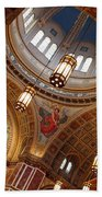 Inside Saint Matthew's Cathedral -- At An Angle Beach Towel