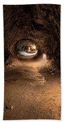 Inside Thurstons Lava Tube Beach Towel