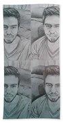 Instagram Portrait Beach Towel
