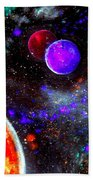 Intense Galaxy Beach Towel