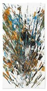 Intensive Abstract Painting 519.112011 Beach Towel