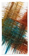 Intensive Abstract Painting 710.102610 Beach Towel