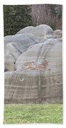 Interesting Rock Formation - Elephant Rocks Beach Towel