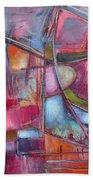 Internal Dynamics # 8 Beach Towel