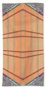 Intersect Beach Towel