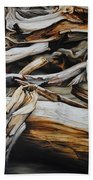 Intertwined Beach Towel by Chris Steinken