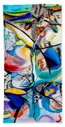 Intimate Glimpses - Journey Of Life Beach Towel
