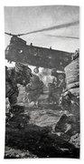 Into Battle - Charcoal Beach Towel