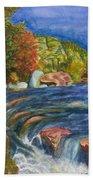 Into Slide Rock Beach Towel