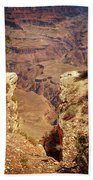 Into The Canyon Beach Towel by Susan Rissi Tregoning