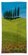 Into The Cypress Land Beach Towel