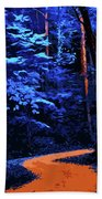 Into The Forest Of Night Beach Towel