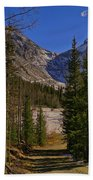 Into The Valley Beach Towel