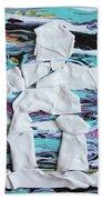 Inukshuk Strata 4 Beach Towel