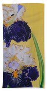 Iris Afternoon Delight Beach Towel