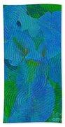 Iris Ageless Blossom  Beach Towel