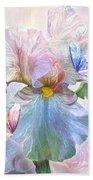 Iris - Goddess Of Serenity Beach Towel