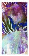 Iris Iv Beach Towel