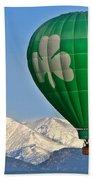 Irish Balloon Beach Towel