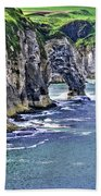 Irish Coast Beach Towel