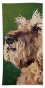 Irish Terrier Beach Towel