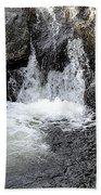 Irish Waterfall Beach Towel