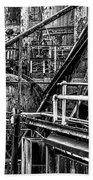 Iron Age - Bethelehem Steel Mill Beach Towel