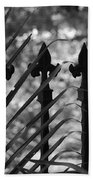 Iron Fence Beach Towel