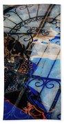 Iron Gate Abstract Beach Towel
