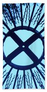 Iron Metal Frame Beach Towel
