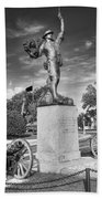 Iron Mke Statue - Parris Island Beach Towel