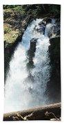 Ironhead Falls Beach Towel