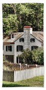 Ironmaster Mansion At Hopewell Furnace  Beach Towel