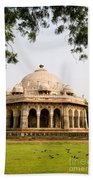 Isa Khan Tomb Burial Sites Beach Towel