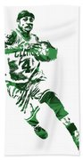 Isaiah Thomas Boston Celtics Pixel Art 5 Beach Towel