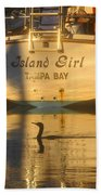 Island Girl Beach Towel