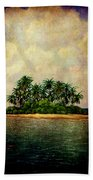 Island Of Dreams Beach Towel