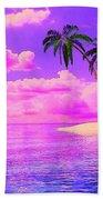Island Sunrise Beach Towel