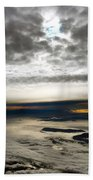 Islands In The Clouds Beach Towel
